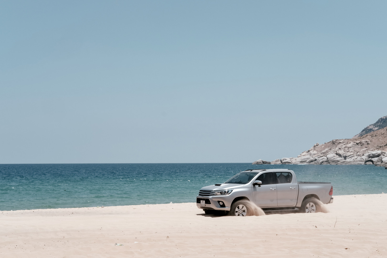 Truck Beach Drive
