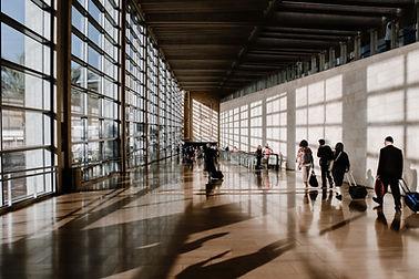 Passagem do aeroporto