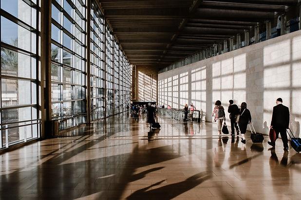 Passage d'aéroport