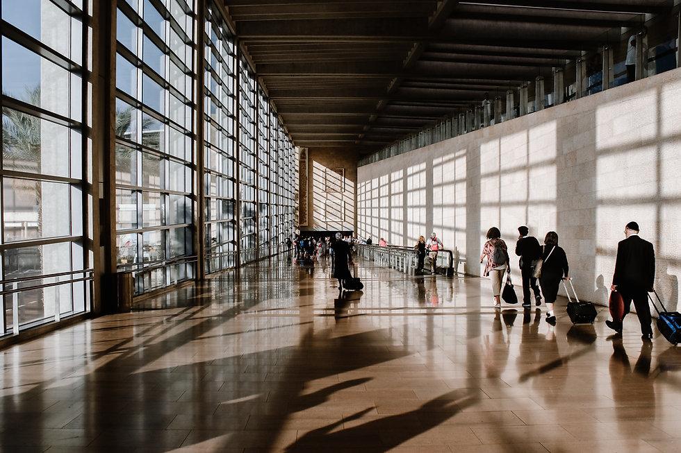Flughafenpassage