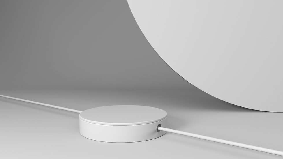 3D White Objects