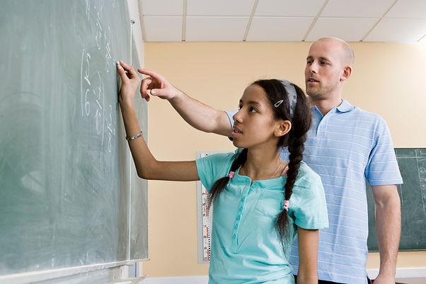 Professeur de maths