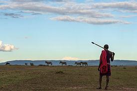 Geleneksel kıyafet Afrika Masai