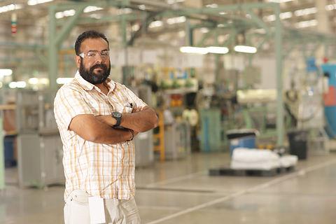 Trabajador de una fábrica