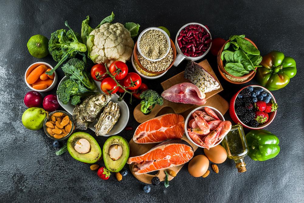 alimentos saudáveis para crianças