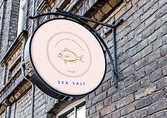Ресторан Вывеска