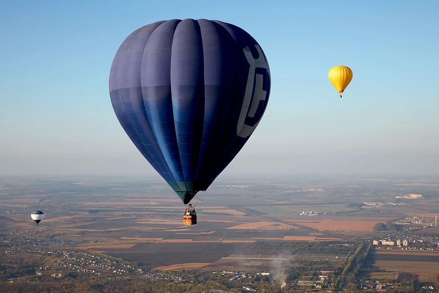Balões de ar quente