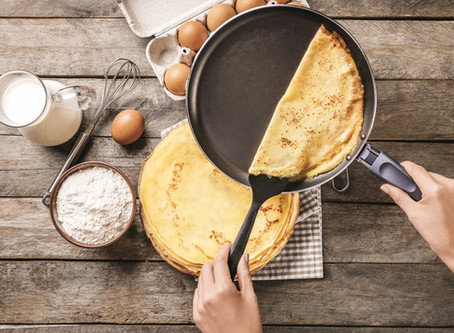 Easiest healtheir crepes ever!!!