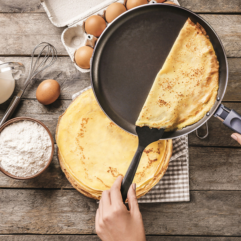 Kids & Teens Class: Crepes Party!  ~ 11:30 AM