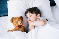 Мальчик с мишкой Тедди