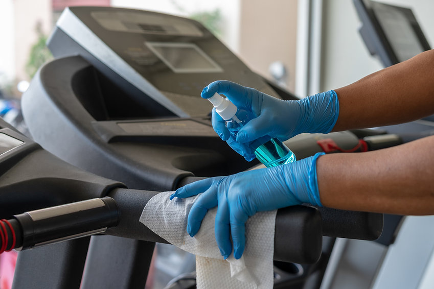 Cleaning Service for Gym