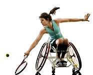 Handicapped Tennis Player