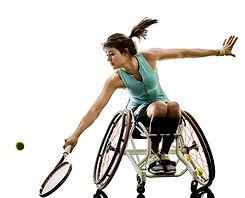 障害者テニスプレーヤー