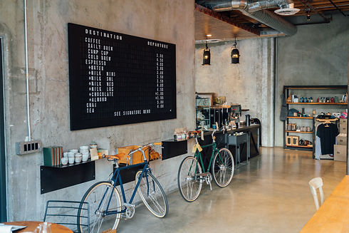 Concrete Wall Cafe