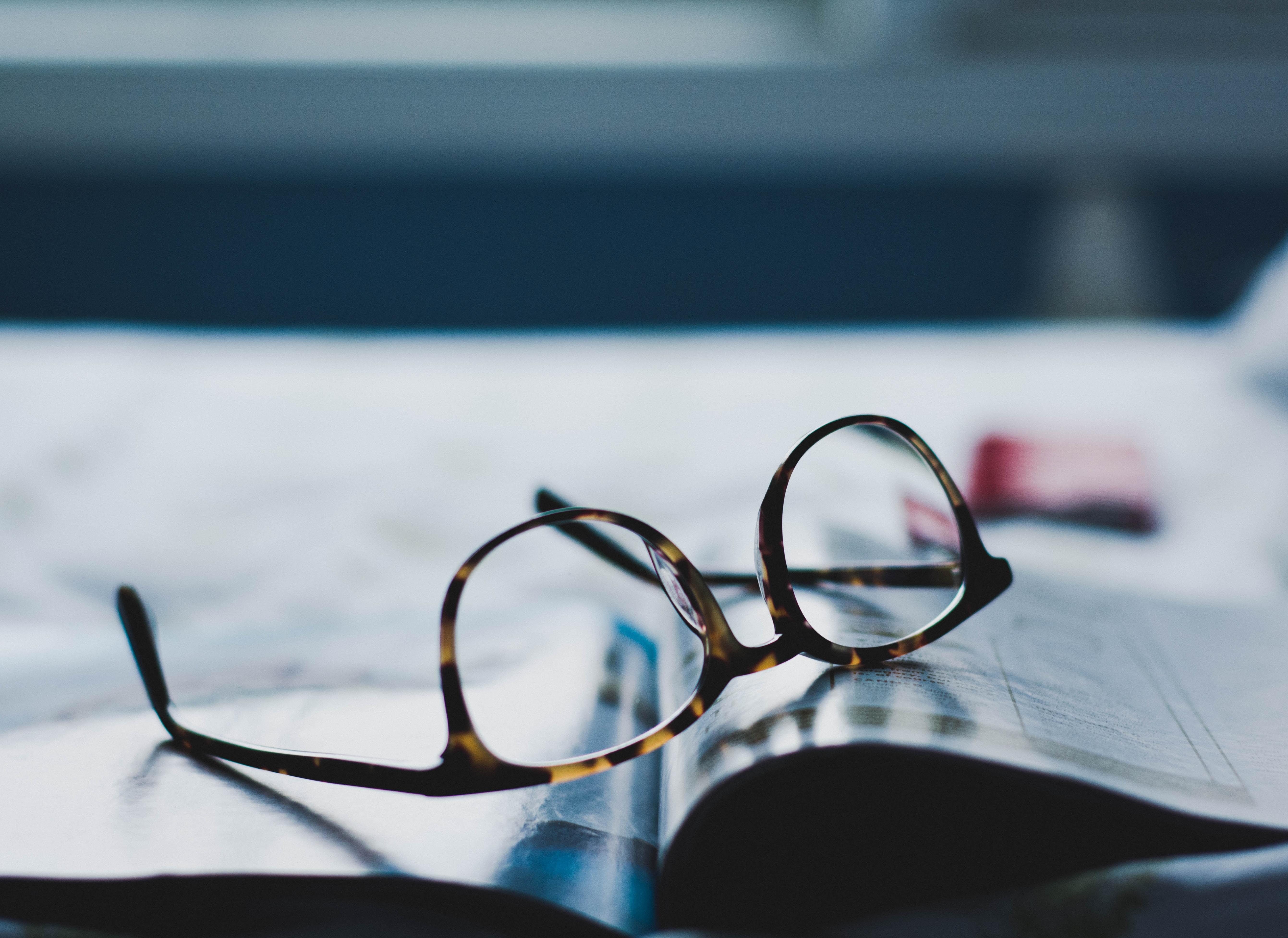 雑誌の眼鏡