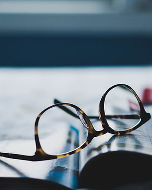Glasögon på Magazine