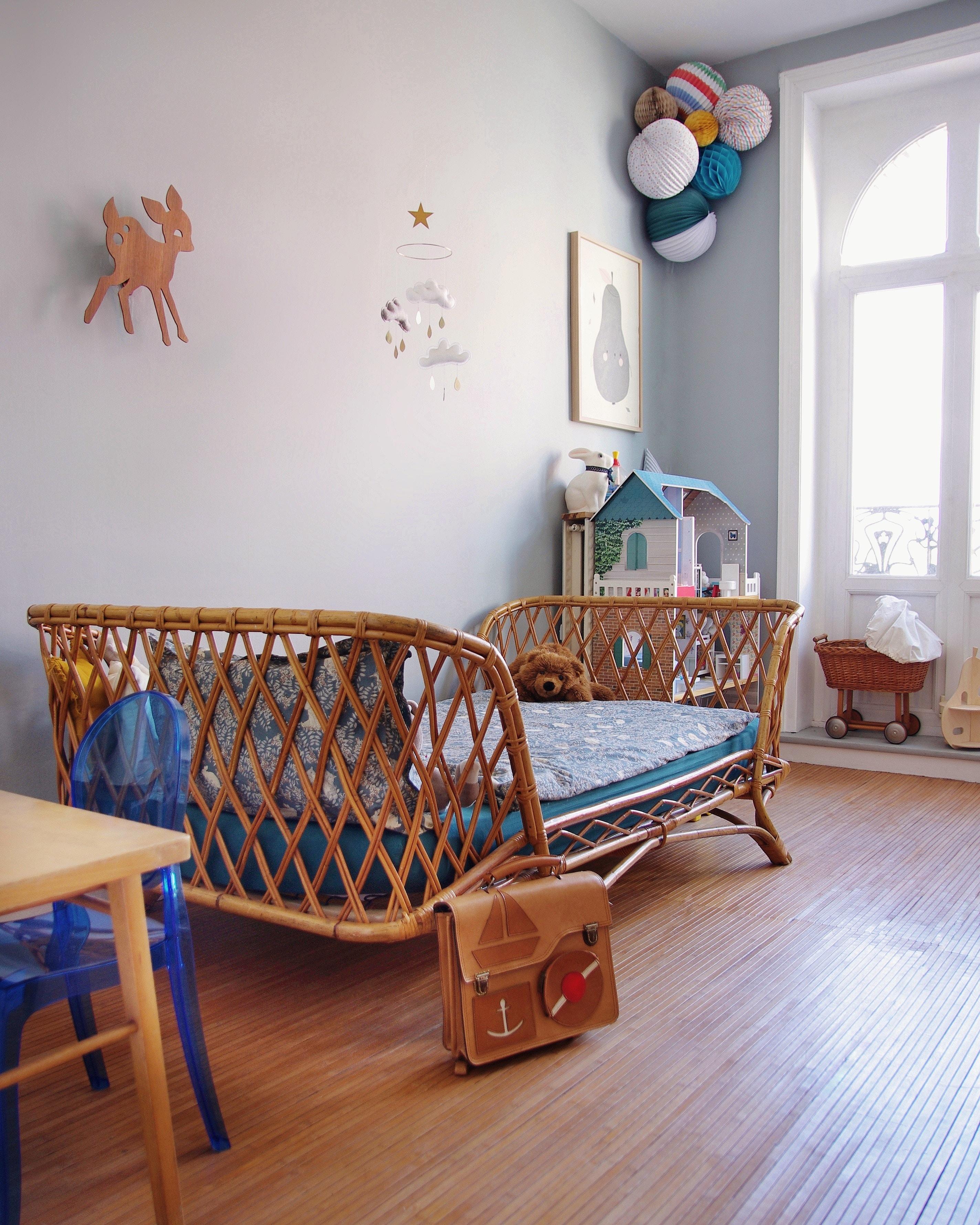 עיצוה ושיפוץ חדר הילדים