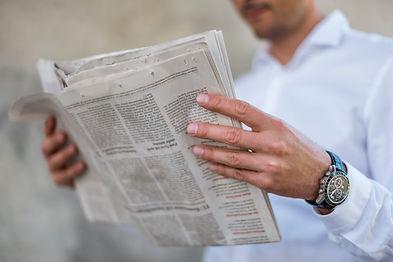 Lire le journal