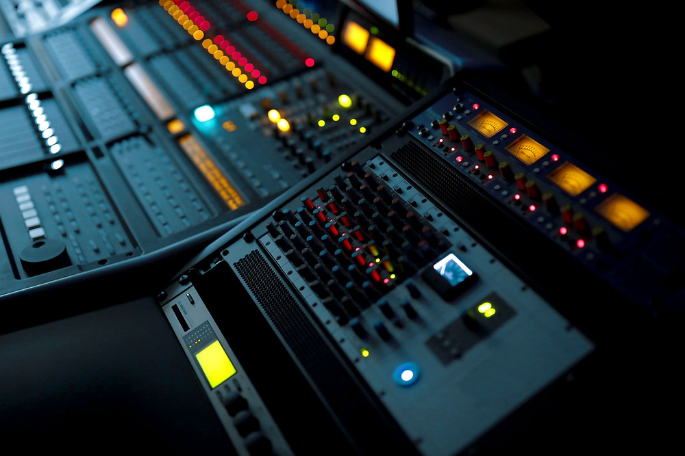 Mixing desk outboard processing