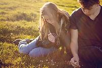 Adolescentes en la naturaleza