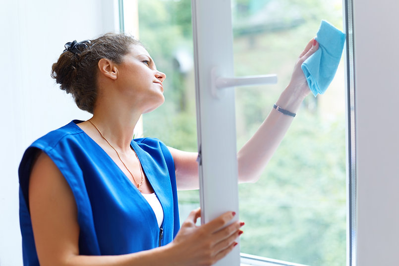 Cleaning the Window