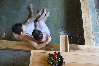 Spa Pool Couple