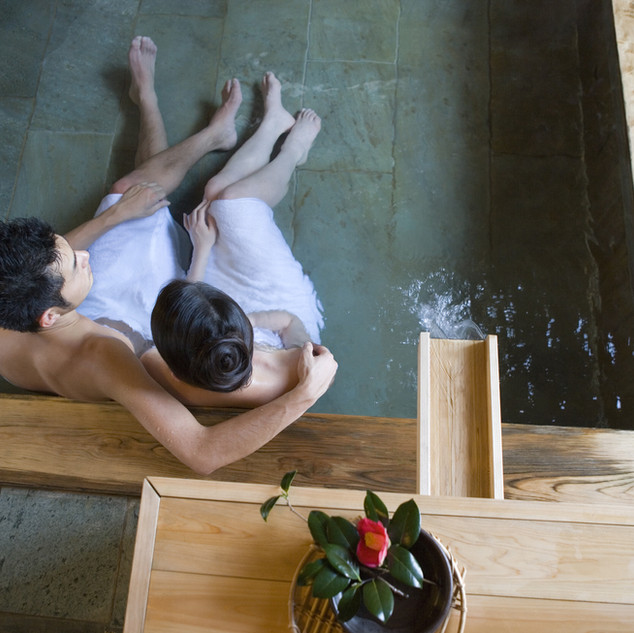 Spa Pool Couple