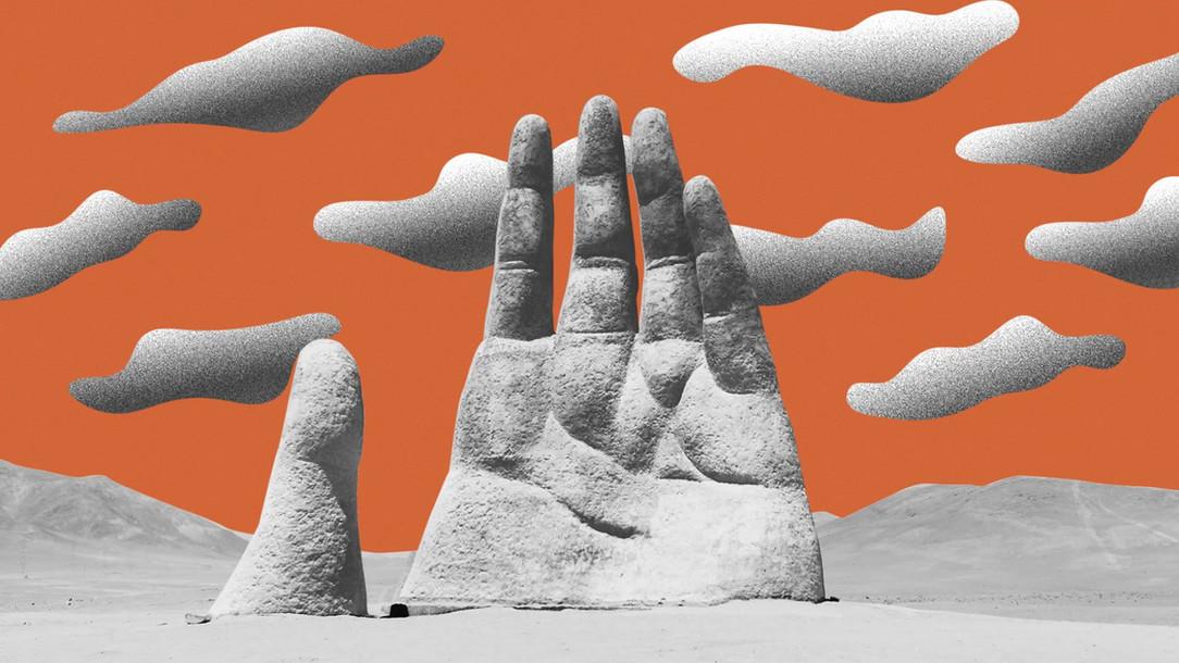 Sculpture à la main