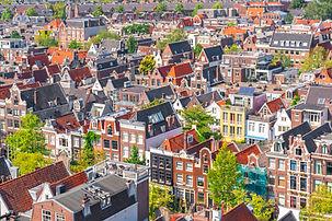 Stadsgezicht in Amsterdam
