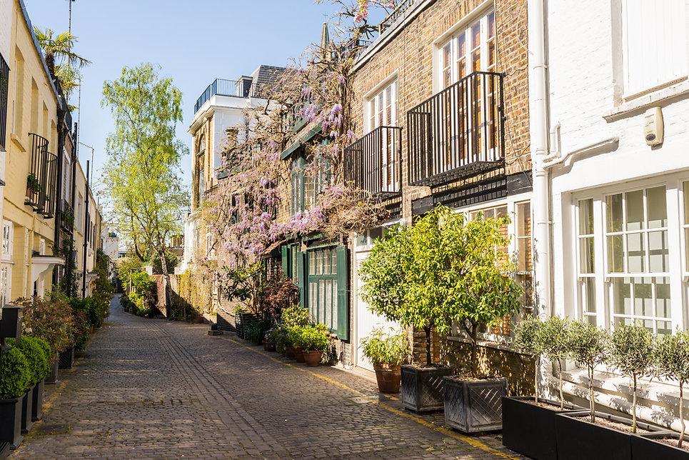 South Kensington London Mews