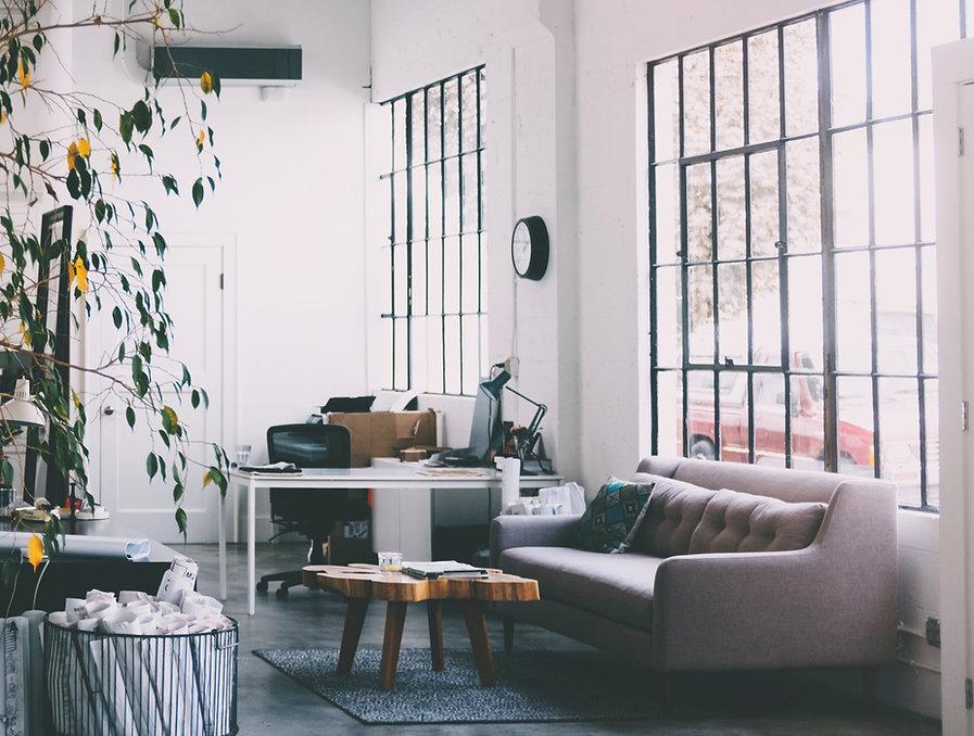 Oficina espaciosa