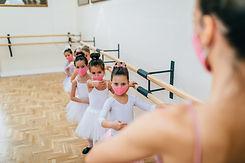 Ballet Class With Masks
