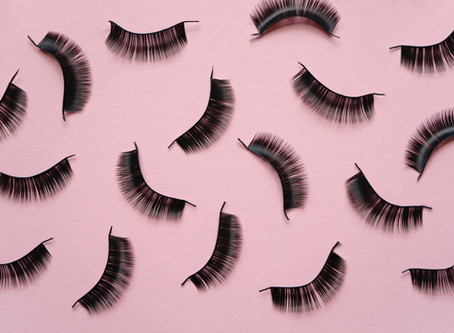 6 steps to applying False Lashes ... the right way
