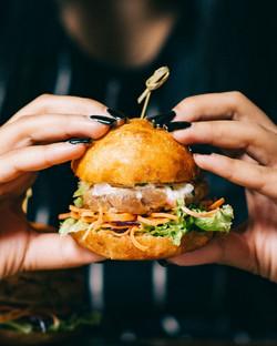Hühnchen-Hamburger