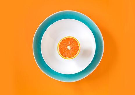 Naranja a naranja