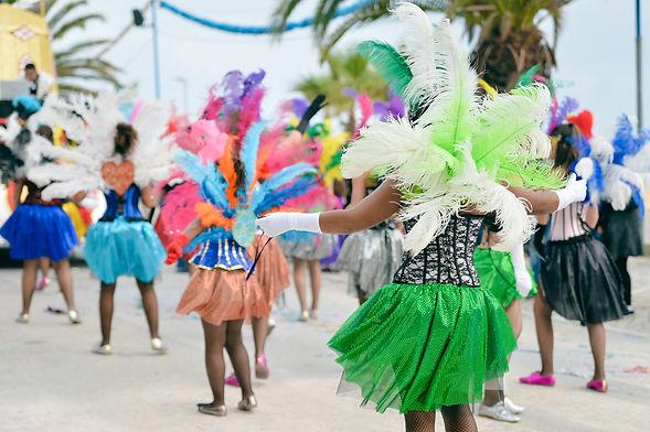 Dançando carnaval