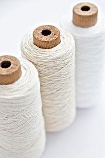 Fios de algodão