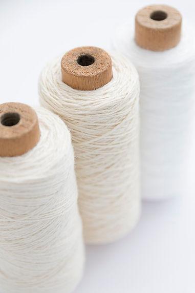 Hilos de algodón