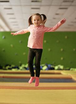 muchacha de salto