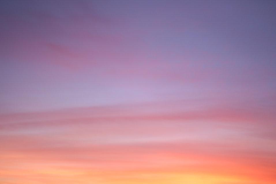 Céu rosa