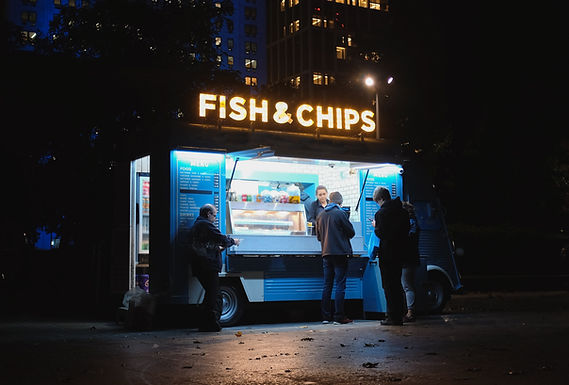 'S avonds laat eten Truck