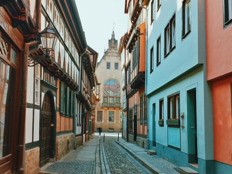 Primii pași in Germania