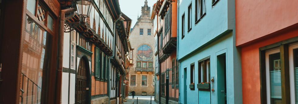 Streets of Quedlinburrg