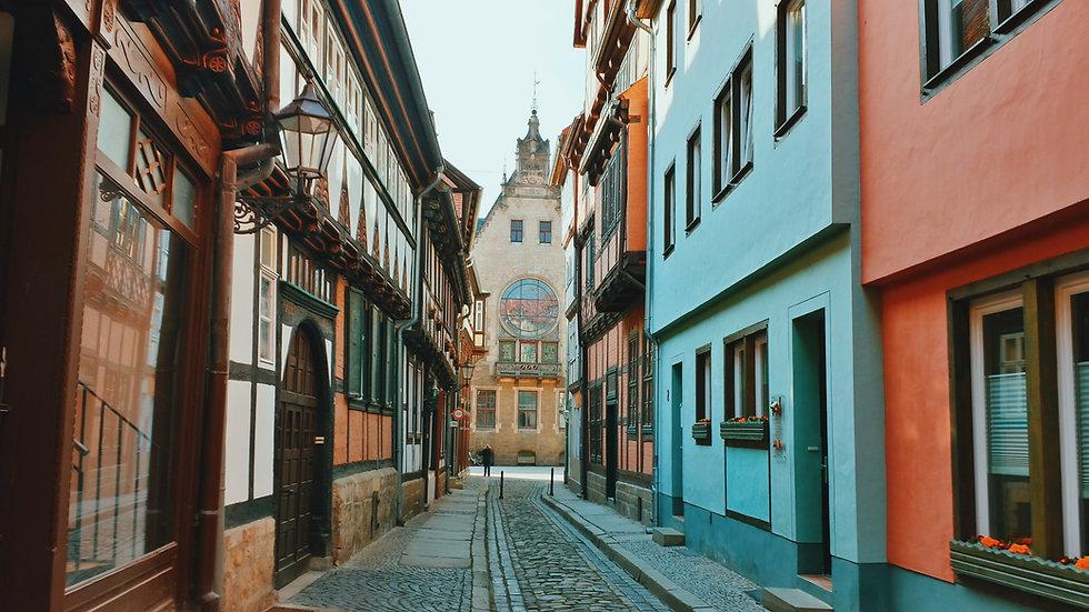 Straßen von Quedlinburg