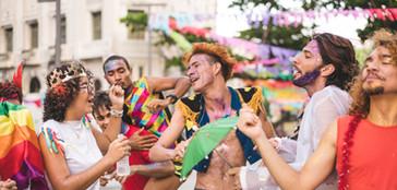 Dançarinos de carnaval