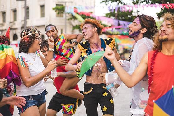 Danseurs de carnaval