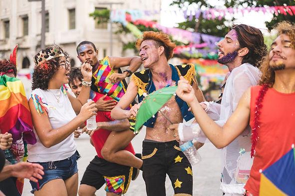 Karnevalstänzer
