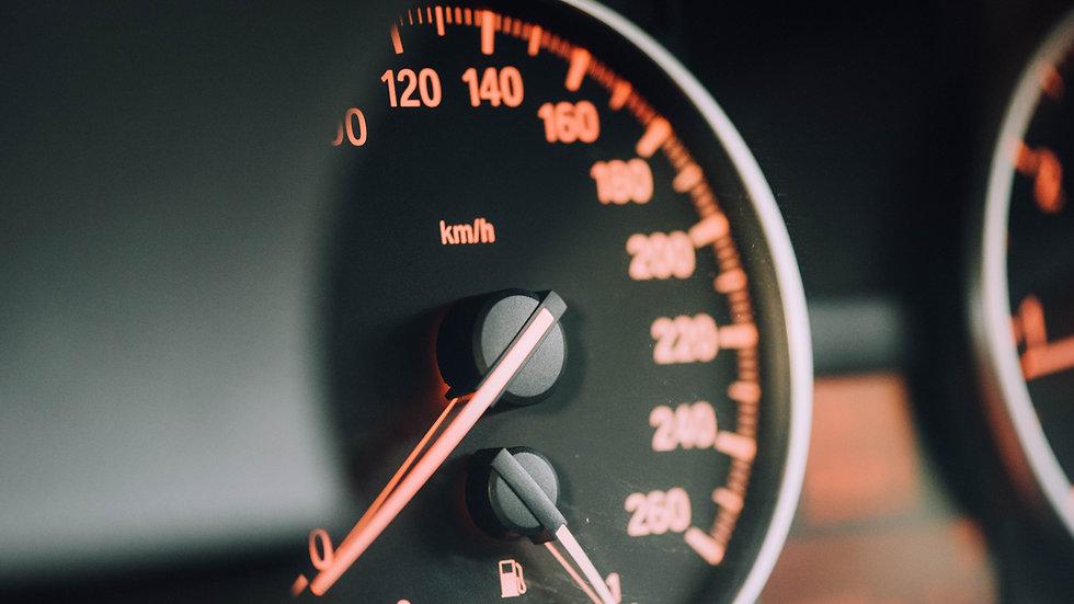 Gematigde verkeerssnelheid