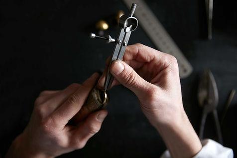 Measuring Gold Ring