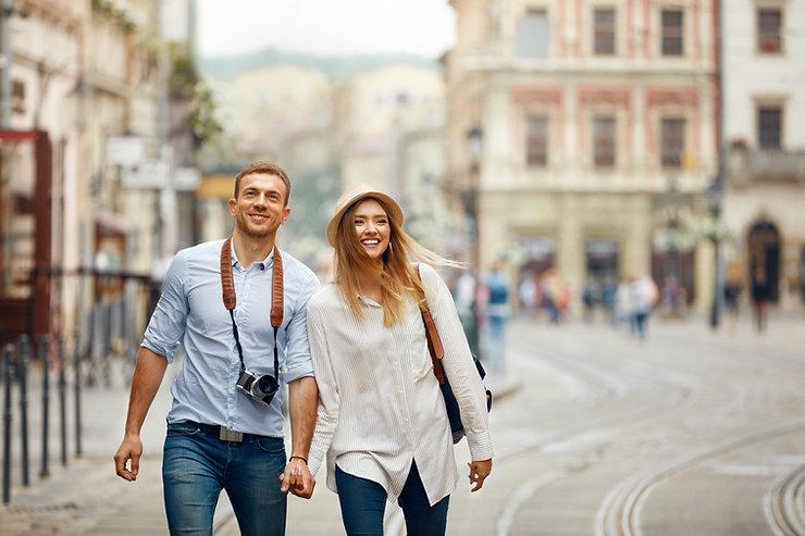 Tourists in Australia